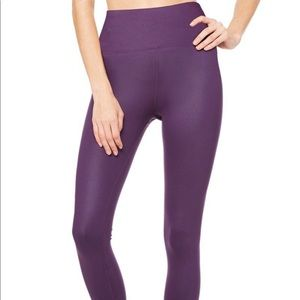 High-waist Alo Air-brush legging